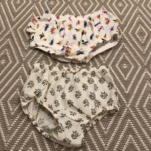 Baby girl diaper covers